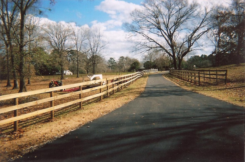 Plank Fence