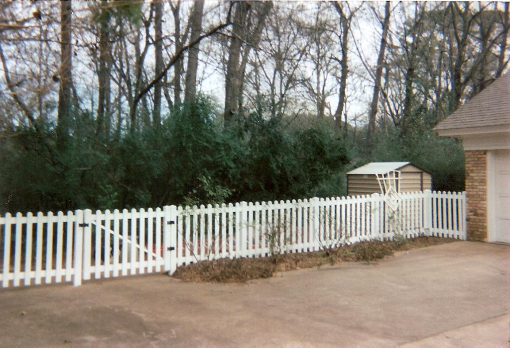 White Picket Fence 2