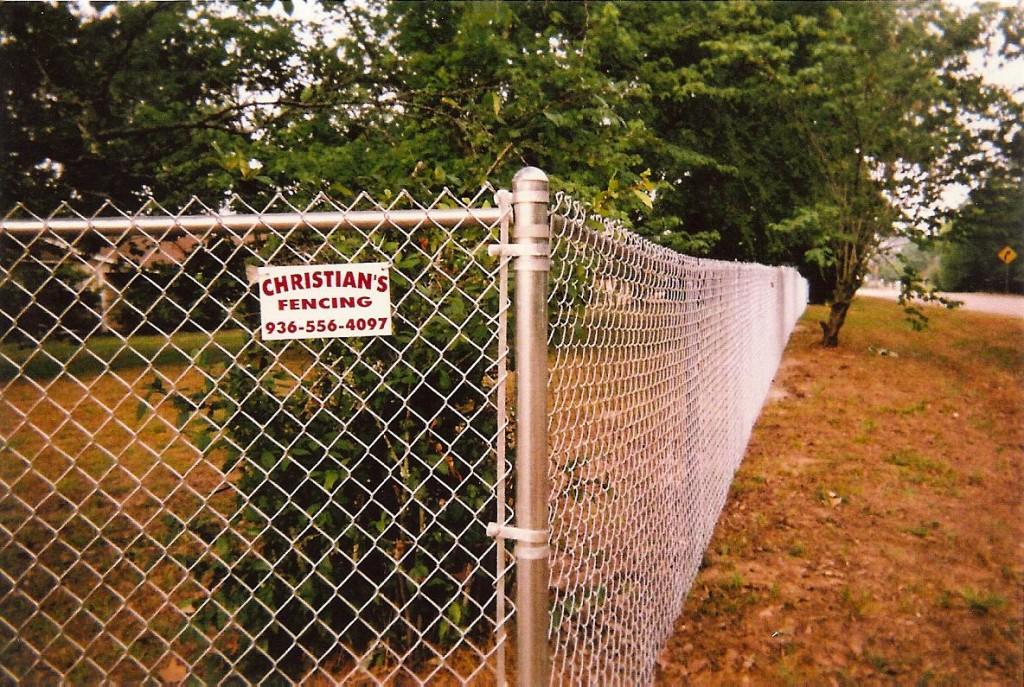 Hurricane Fence Corner