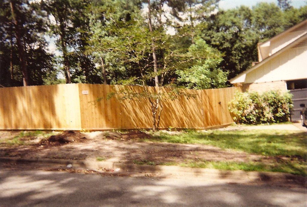 Privacy Fence Ciorner