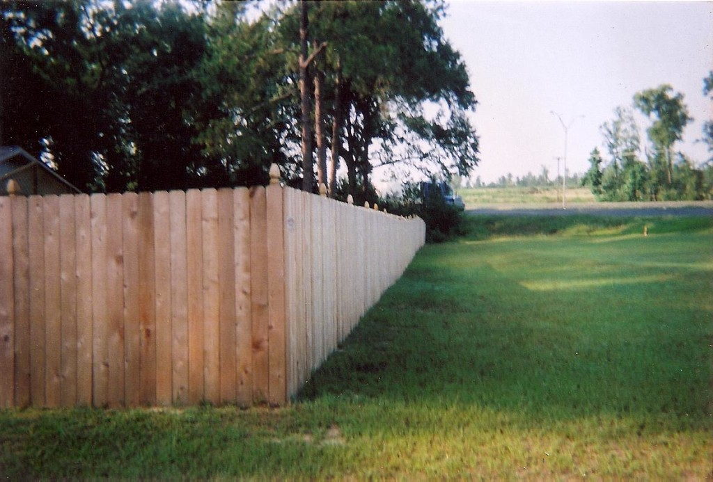Privacy Fence Corner